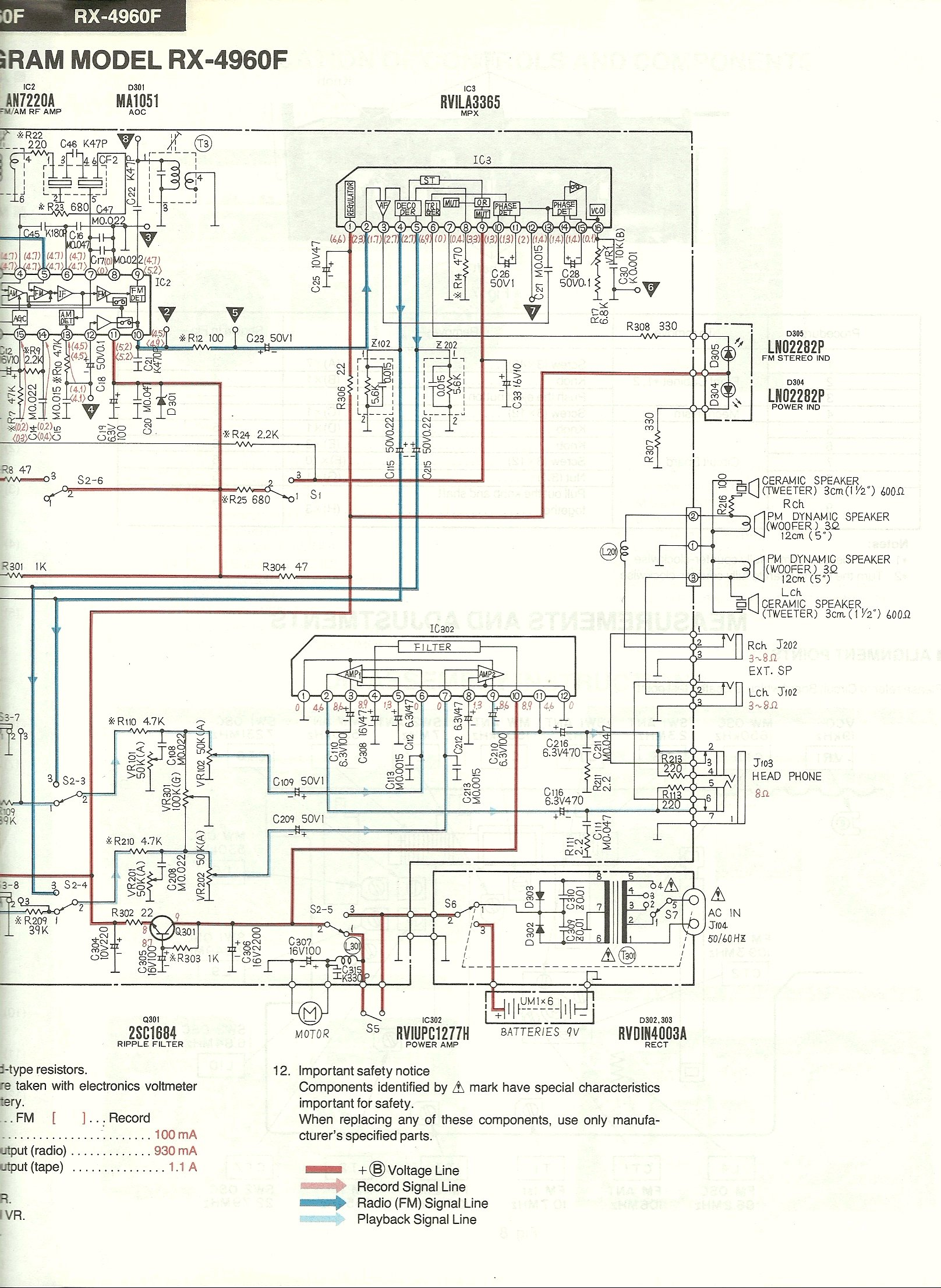 Technics Stereo Wiring Diagram 30 Images Pioneer Moreover Radio Centre National 4930 Circuit 282 Of 229 At