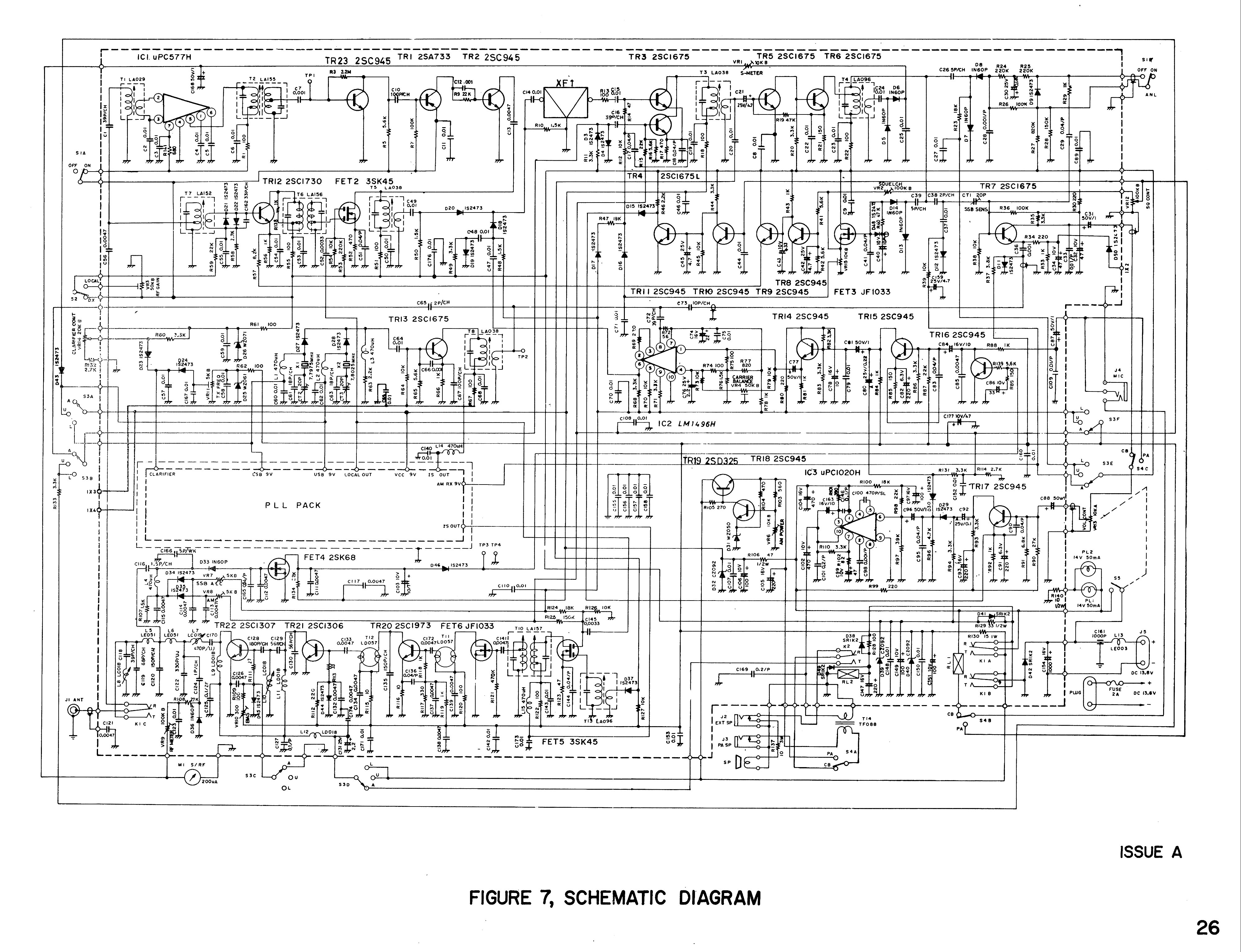 Power Amp Circuit Diagram